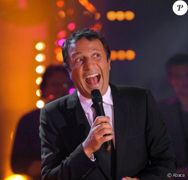 Arthur, le 12 octobre 2008, au Cirque Bouglione pour l'animation de l'émission CAP48, diffusée sur La Une.