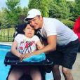 Jean-Marc Généreux et sa fille Francesca, atteinte du syndrome de Rett.