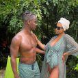 Lé Djadja, enceinte de son deuxième enfant, dévoile son baby bump sur Instagram.