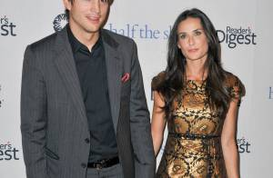 Demi et son chéri Ashton Kutcher rivalisent de glam... avec la très jolie Christy Turlington !