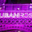 Lancement d'Octobre Rose avec l'illumination en rose de la Tour Eiffel à Paris. Le 1er octobre 2020. © JB Autissier / Panoramic / Bestimage