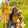 """Alexandra, """"Koh-Lanta : Les 4 Terres"""", pose avec ses deux filles sur Instagram le 1er octobre 2020."""