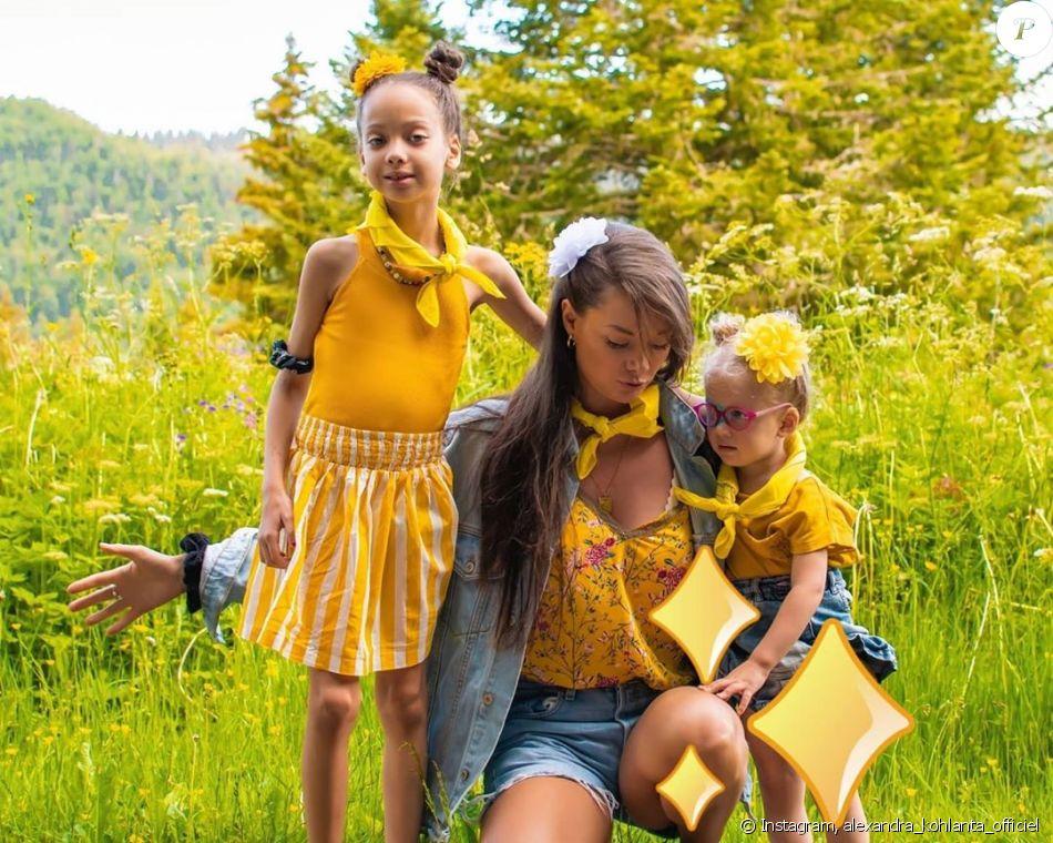Alexandra Koh Lanta Les 4 Terres Pose Avec Ses Deux Filles Sur Instagram Le 1er Octobre 2020 Purepeople