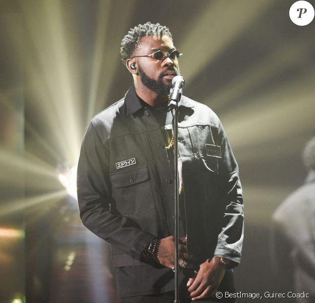 Damso (Album rap : Lithopédion) lors de la cérémonie des 34e Victoires de la Musique à la Seine Musicale, Boulogne Billancourt © Coadic Guirec / Bestimage