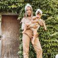 """Cécilia Siharaj, révélée dans """"Koh-Lanta"""", participe avec sa fille Sway (13 mois) à """"Mamans et célèbres"""" sur TFX."""