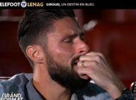 """Olivier Giroud en larmes : """"La vache..."""", chamboulé face à ses enfants et ses proches"""