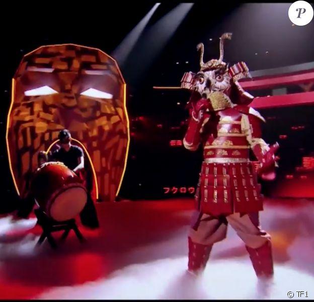 "Le Hibou, émission ""Mask Singer"" du 17 octobre 2020."