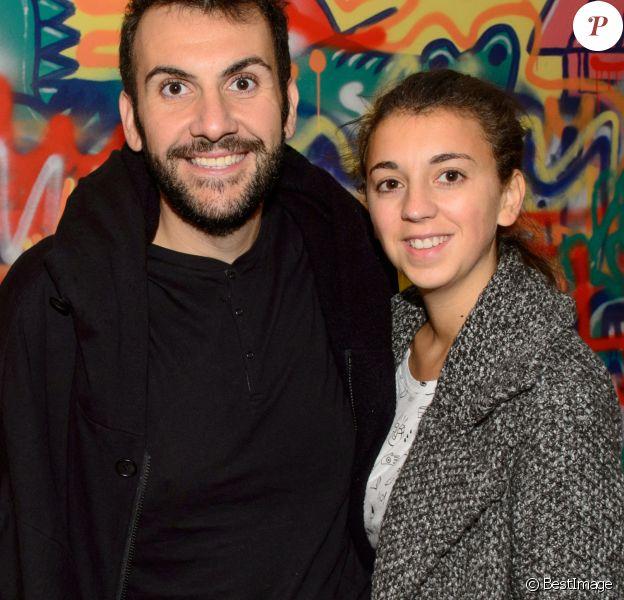 Exclusif - Laurent Ournac et sa femme Ludivine - Croco Kids Party Lacoste au Pavillon Puebla à Paris