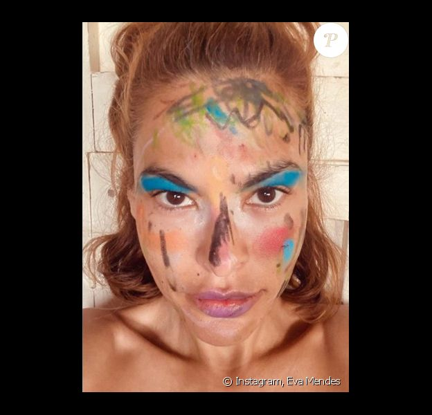 Eva Mendes sur Instagram.