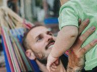 """M. Pokora, son """"prince"""" Isaiah est déjà remuant : adorable vidéo père-fils"""