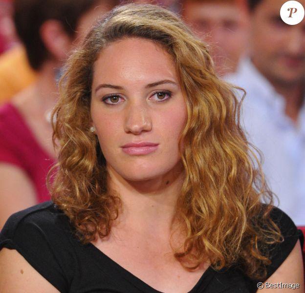 """Camille Muffat - Enregistrement de l'émission """"Vivement dimanche"""""""