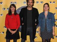 Bérénice Béjo sublime marraine, entourée de Marie Gillain et Vincent Elbaz