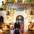 Donald et Melania Trump fêtent Halloween avant l'heure à la Maison Blanche. Washington. Le 25 octobre 2020.