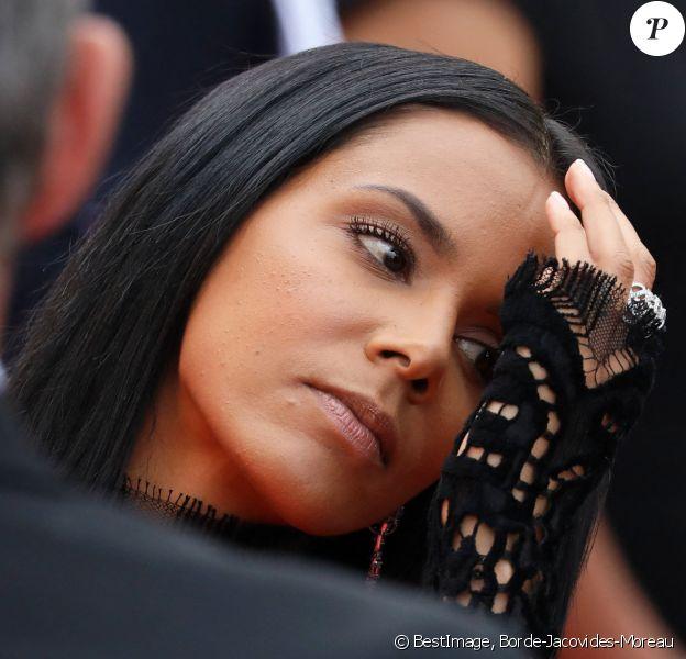"""Shy'm (bague Piaget) - Montée des marches du film """"Everybody Knows"""" lors de la cérémonie d'ouverture du 71ème Festival International du Film de Cannes. Le 8 mai 2018 © Borde-Jacovides-Moreau/Bestimage"""