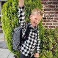 Hugo, le fils d'Amélie Neten, pose sur Instagram, le 1er septembre 2020