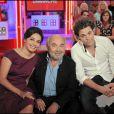 Saïda Jawad, Gérard Jugnot et Arthur Jugnot sur le plateau de  Vivement Dimanche . L'émission sera diffusée le 4 octobre prochain. 30/09/09