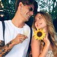 Aurélie Pons d'Ici tout commence avec son compagnon Carlos, photo Instagram postée en mai 2018