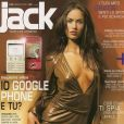 Megan Fox en couverture de  Jack  Italie