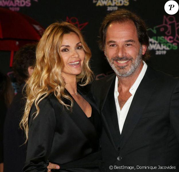 Ingrid Chauvin et Thierry Peythieu - 21ème édition des NRJ Music Awards au Palais des festivals à Cannes. © Dominique Jacovides/Bestimage