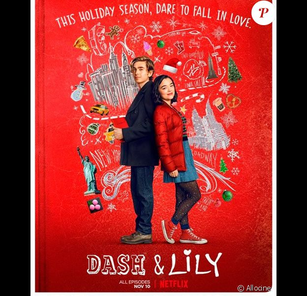 """""""Dash et Lily"""", sur Netflix."""