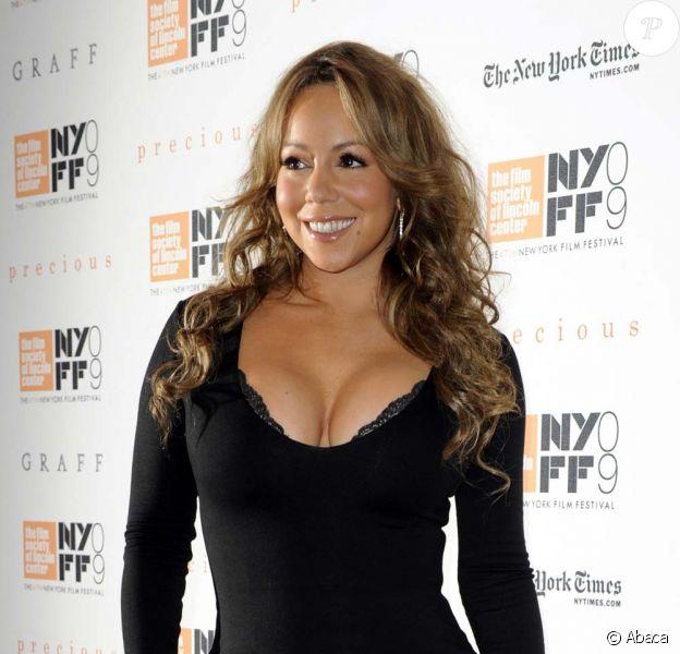 Mariah Carey au festival du film de New York le 3 octobre 2009.