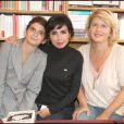 Rachida Dati accompagne son amie Valérie Pineau-Valencienne et sa fille pour la dédicace de son livre le 3 octobre