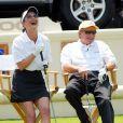 Catherine Zeta-Jones et Michael Douglas en juillet 2002.