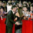 Monica Bellucci et Vincent Cassel à la 3e édition du festival international du film de Rome, en 2008