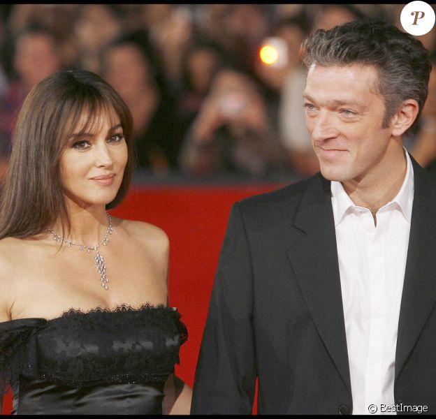 Monica Bellucci et Vincent Cassel à la 3e édition du festival international du film de Rome
