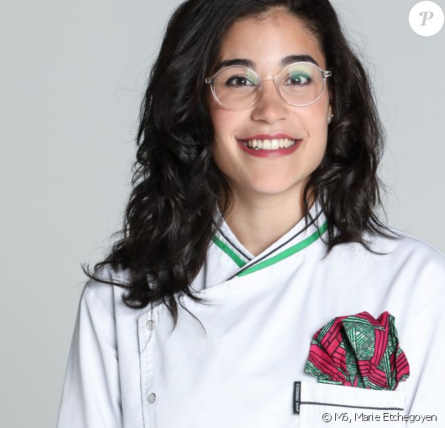 "Justine Piluso, 26 ans, candidate de ""Top Chef 2020, photo officielle"