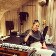 "Justine de ""Top Chef"" souriante sur Instagram, avril 2020"