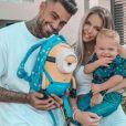 Jessica Thivenin, épouse de Thibault Garcia et maman de Maylone (1 an) en octobre 2020.