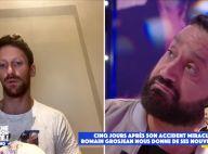 """Romain Grosjean revient sur son terrible accident : """"J'ai cru que j'étais mort"""""""