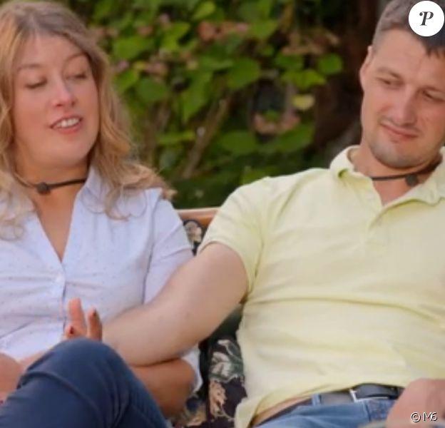 """Laura et Benoît lors du bilan de """"L'amour est dans le pré 2020"""" - M6"""