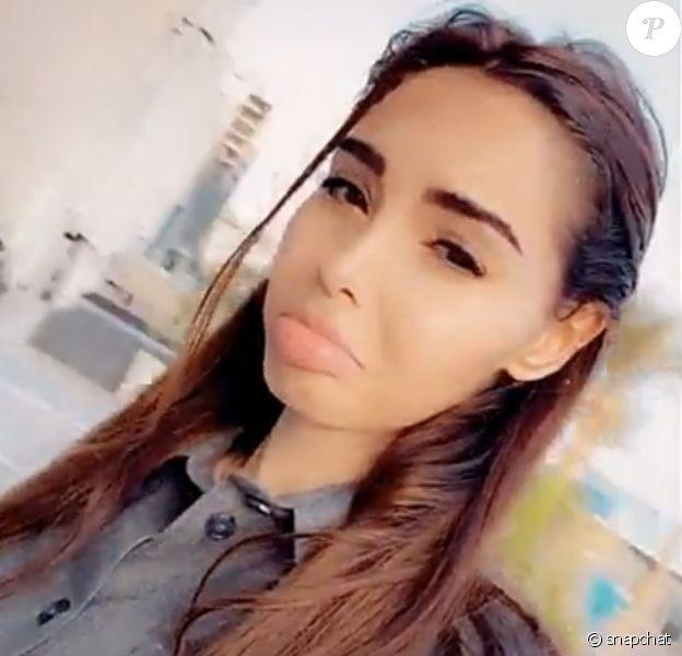 Nabilla très émue pour le premier jour de crèche de son fils Milann - Snapchat, 7 décembre 2020