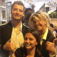 Caroline Margeridon (Affaire conclue) avec ses enfants, Alexandre et Victoire - Instagram, 20 septembre 2019