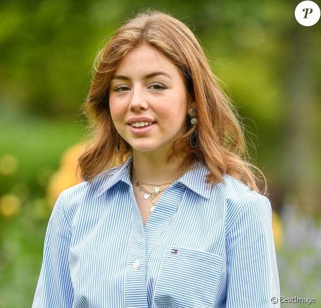 La princesse Alexia des Pays-Bas - Rendez-vous avec les membres de la famille royale des Pays-Bas dans les jardins du Huis ten Bosch à La Haye, été 2020.