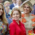 """La princesse Alexia - La famille royale des Pays-Bas lors du """"Kings Day Celebrations"""" à Amersfoort. Le 27 avril 2019"""