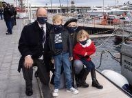Charlene de Monaco, crâne rasé et béret : sortie remarquée avec les jumeaux et Albert
