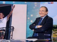 Jean-Pierre Pernaut en caleçon, les cheveux longs... Des photos dossiers pour son dernier JT