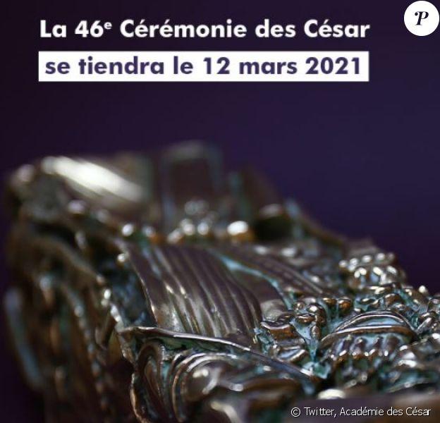 La 46e Cérémonie des #César2021 sera diffusée en clair, en direct et en exclusivité sur @canalplus.