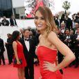 """Valérie Bègue - Montée des marches du film """"Macbeth"""" lors du 68 ème Festival International du Film de Cannes, à Cannes le 23 mai 2015."""