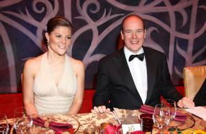 Le Prince Albert II de Monaco et la Princesse Victoria de Suède dînent ensemble... c'est le couple rêvé par le Gotha !