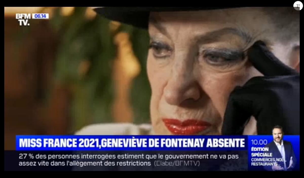 Miss France - Geneviève de Fontenay enterre enfin la hache de guerre :