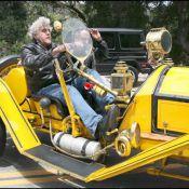 Elle MacPherson, Stéphane Guillon, Jay Leno, Kurt Russel... les people adorent les voitures originales, vintage, tuning !