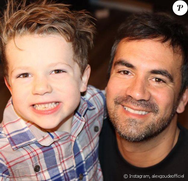 Alex Goude a partagé cette photo de lui avec son fils, à Las Vegas, sur Instagram.
