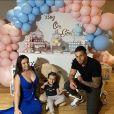 """Kelly Helard, participants de """"Mamans et célèbres"""" sur TFX, est enceinte de son deuxième enfant."""