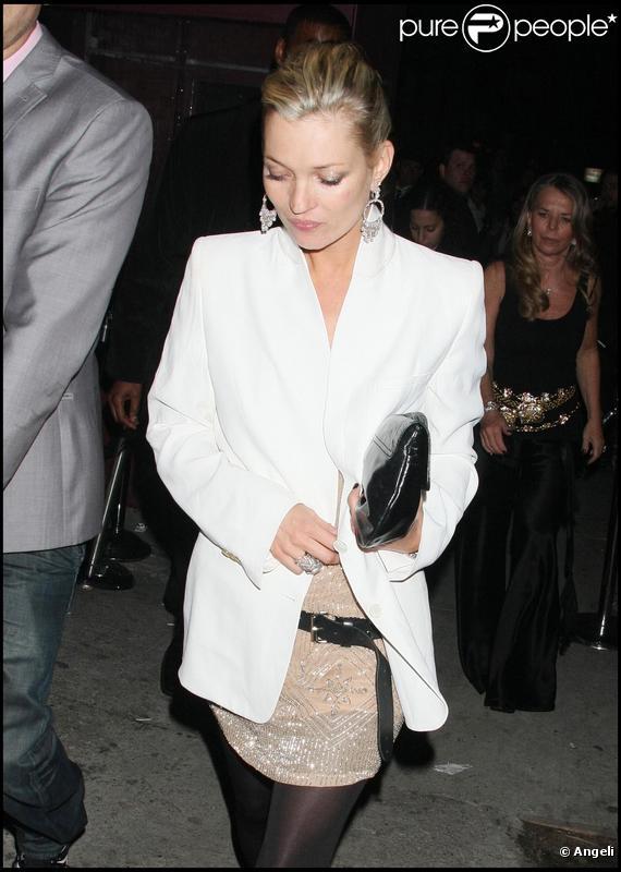 Le top model Kate Moss