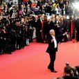 """Alain Delon - Montée des marches du film """"A Hidden Life"""" lors du 72ème Festival International du Film de Cannes. Le 19 mai 2019 © Jacovides-Moreau / Bestimage"""