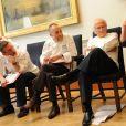 Alain Roux, Michel Roux Jr, Michel Roux et Albert Roux au Mandarin Oriental à Londres en 2009.